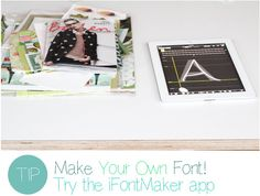 Make Your Own Font by decor8, via Flickr