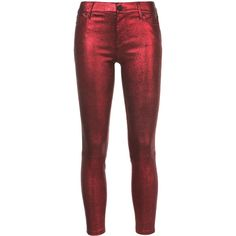 Rta Prince skinny jeans (10.425 DKK) ❤ liked on Polyvore featuring jeans, red, red jeans, skinny fit denim jeans, skinny jeans, skinny leg jeans and rta jeans