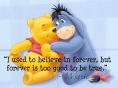 Eeyore and pooh bear pictures ,.Eeyore is a favorite amongst most admirers of Winnie the Pooh characters and he is an unbelievably lov. Winnie The Pooh Pictures, Winnie The Pooh Quotes, Disney Winnie The Pooh, Walt Disney, Disney Love, Pooh Bear, Tigger, Eeyore Quotes, Winne The Pooh