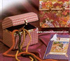 Como hacer un cofre de cartón | Mimundomanual