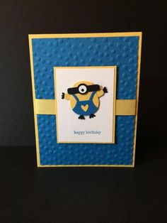 Birthday for a Minion #2 by jadoherty - Cards and Paper Crafts at Splitcoaststampers