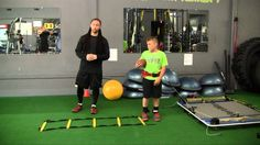 Youth Strength, Speed & Agility Training (Complete VertiMax Workout - Pa...