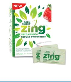 Shoppin N More: Free Sample of Born Sweet Zing Zero Calorie Stevia...