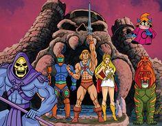 Master of The Universe Character Design. Masters Of The Universe, 80s Cartoon Characters, Character Design, He Man Thundercats, Superhero Pictures, Anime, Cartoon, Retro Cartoons, Skeletor Heman