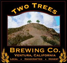 Two Trees Brewing Company, Ventura, California Ojai California, Ventura California, Ventura County, California Homes, California Travel, Two Trees, Local Brewery, Beach Town, Brewing Company