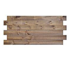 Cabecero de madera de pino, envejecido - 180x86 cm