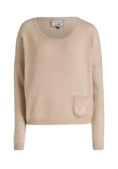 ARQUEONAUTAS - Cashmeremix-Pullover beige - OUTLETCITY.COM