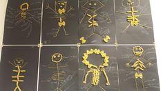 Skeletten maken van pasta