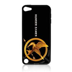 The Hunger Games TPU Rubber Plus Hard Case Cover Skin for Ipod Touch 5g 5 5th Generation – Free Plastic Retail Packaging Box | Buy Hunger Games Merchandise and Gifts