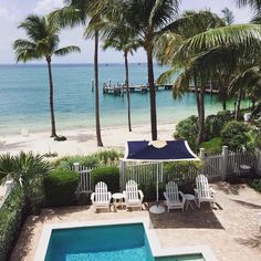 Monday daydreaming transports us to Sunset Key Cottages