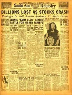 Stock market investment style 1929 buffalo power assets investments limited