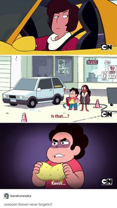 Steven scared me in this episode