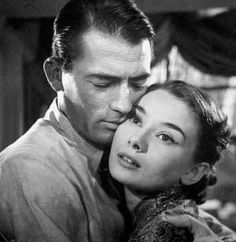 Roman Holiday (1953) - Gregory Peck, Audrey Hepburn  I love this movie.  Always want it to end with Audrey abdicating!!