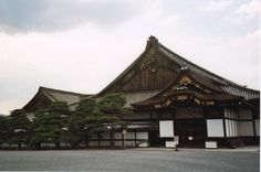 Nijo Castle had Nightingale floors. The planks were designed to sing like a nightingale when walked across. An ancient Japanese burglar alarm to warn against intruders at night. Pretty amazing.