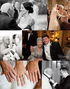 Ideas for Taking Wedding Photos with Grandparents