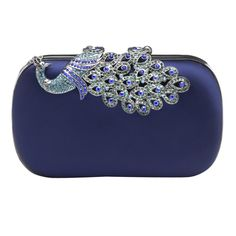 Peacock Bridal clutch - http://www.classicweddinginvitations.com.au/bridal-clutches/