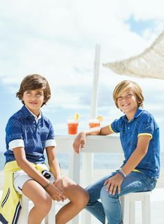 #Feeling #Blue: A serenidade do #azul! | #MKids #polo