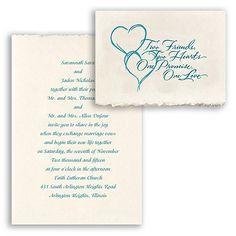 Promises - Oasis - Invitation   Invitations By David's Bridal