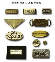 custom made metal plate for bags - Google Search