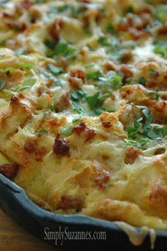... and Strata on Pinterest | Quiche, Quiche Recipes and Spinach Quiche