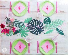 HappyMottoparty Flamingo, Tischdekoration Flamingo Party, Party Mottos, Judith, Table Decorations, Home Decor, Unicorn Birthday, Beautiful Life, Ideas, Interior Design