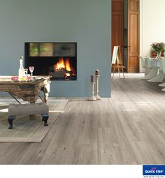 Mr Grey would love this flooring! Quick-Step Impressive Saw Cut Oak Grey - waterproof laminate