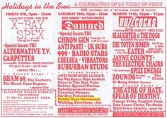 Holidays In The Sun, Flyer, Blackpool UK. 9-11/8/'96. Flyers Tickets, Blackpool Uk, Rock Band Posters, Sun Holidays, Special Guest, Chakras, Rock Bands, Website, Chakra