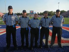 Larry Clemmons Crew 2012 Football Officials, Larry, Suits, Wedding Suits, Costumes, Suit
