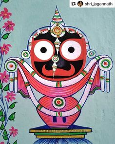 Lord Jagannath, Incredible India, Mythology, Good Morning, Tourism, Drawings, Fictional Characters, Instagram, Art