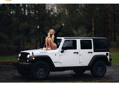 Pinterest: iamtaylorjess | White Jeep Wrangler