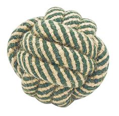 Outton Dog Cat Chew ToyTooth Cleaning Durable Cotton Knot Rope Ball Puppy Pets Chew Ball Pets IQ Treat Training Toys *** Read more  at the image link.