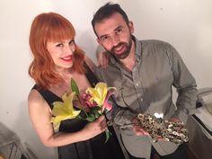 Back Connie Ansaldi con Marcelo Toledo para #ManosDeMujer  #ManoDigital es Connie Ansaldi fotografiada por Fabiana Barreda