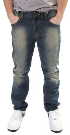 Tinted Straight Jean by Ecko