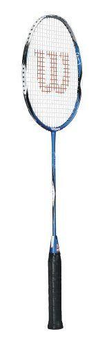 Love a bit of badders! Wilson Badminton Racket, Tennis Racket, Racquet Sports, Rackets, Outdoors, Health, Fitness, Blue, Objects