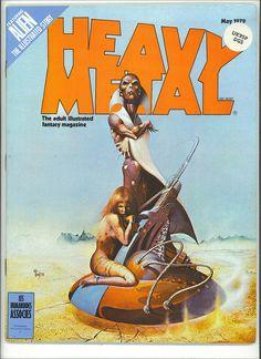 Heavy Metal Magazine May 1979 VFN- Corben, Moebius Alien Movie adapt part 1 Heavy Metal Comic, Heavy Metal Art, Metal Magazine, Magazine Art, Magazine Covers, Pulp Magazine, Science Fiction Art, Pulp Fiction, Cyberpunk