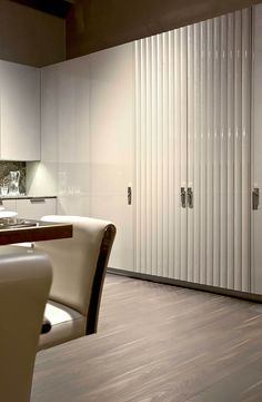 Kitchen Cabinet design at Villa Ada by Fendi Casa Ambiente Cucina, September 2014 edition, Luxury Living Group