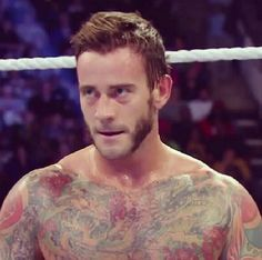 #Hot CM Punk ❤️Mr. Numb is the World No.1 Numbing Cream - www.beyondtattoos.co.uk