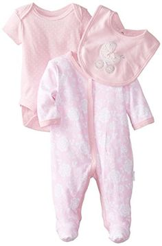 Vitamins Baby Baby-Girls Newborn Baroque Rose 3 Piece Footed Coverall Set, Pink, New Born Vitamins Baby http://www.amazon.com/dp/B00JUFPC22/ref=cm_sw_r_pi_dp_Nb6Yub1JXMK6T
