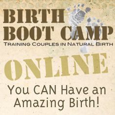 Becoming a birth teacher or birth boot camp instructor-