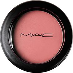 "MAC blush--I love the choices in MAC blush. A lot of brands give you the choice of ""Pink"" ""Pinky Plum"" ""Pinky Brown"" and ""Pinky Pink Brown"". They often come out looking the same on my skin, but with these I can actually wear something that stays a cooler plum or a soft coral. $20.00"