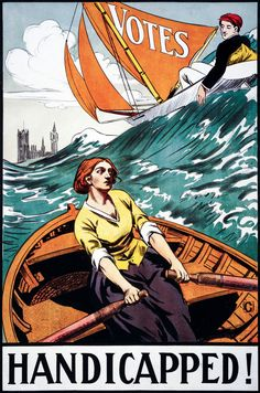 Votes Handicapped Artwork, Propaganda Old, Antique Poster, HD Art Print / Canvas in Art, Prints | eBay