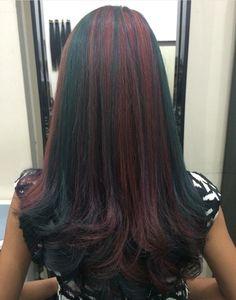Beautiful Long Hair, Gorgeous Hair, Pretty Hairstyles, Wig Hairstyles, Best Salon, Hair Color Highlights, Shiny Hair, Stylish Hair, Big Hair