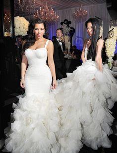 Kim kardation thick dress