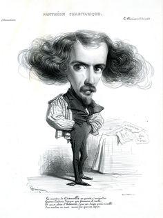 "Les Caricatures Amusantes par ""Benjamin"" - Tartuffe's Folly"