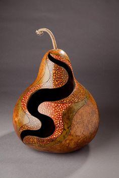 Big Flow - Gourd Art:
