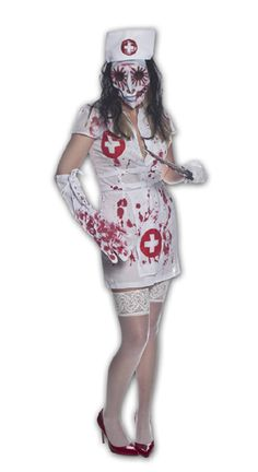 Halloween Nurse Costume 2 - 12 BRILLIANT NURSE #COSTUME IDEAS FOR #HALLOWEEN