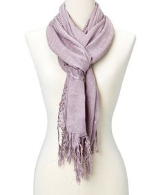 This Purple Sequin Scarf is perfect! #zulilyfinds