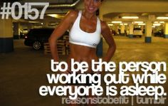 Seriously, the silence while working out is the BEST sound, second only to a baby's laugh.