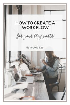Workflows can help you streamline your work, and they give you a   predictable routine to follow. They're ideal for large, involved projects,   especially when the projects involve more than one person. Even your blog   post writing process can benefit from a workflow, especially considering   how t
