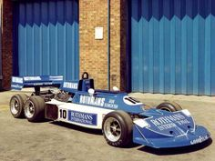 South African Ian Scheckter tested the March 2-4-0 in 1977, but the project was abandoned before the car ever raced in a Grand Prix